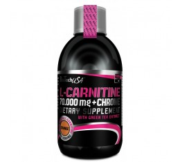 BioTech - L-Carnitine + Chrome 70.000 Liquid / 500 ml