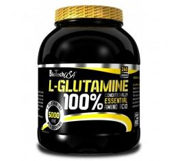 BioTech - L-Glutamine / 240 gr. Хранителни добавки, Аминокиселини, Глутамин