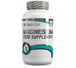 BioTech - Magnesium 350mg. / 120 caps Хранителни добавки, Витамини, минерали и др., Магнезий