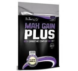 BioTech - Max Gain Plus / 1000gr. Хранителни добавки, Гейнъри за покачване на тегло, Гейнъри