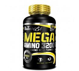 BioTech - Mega Amino 3200 / 100 tabs. Хранителни добавки, Аминокиселини, Комплексни аминокиселини