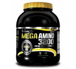 BioTech - Mega Amino 3200 / 300 tabs. Хранителни добавки, Аминокиселини, Комплексни аминокиселини