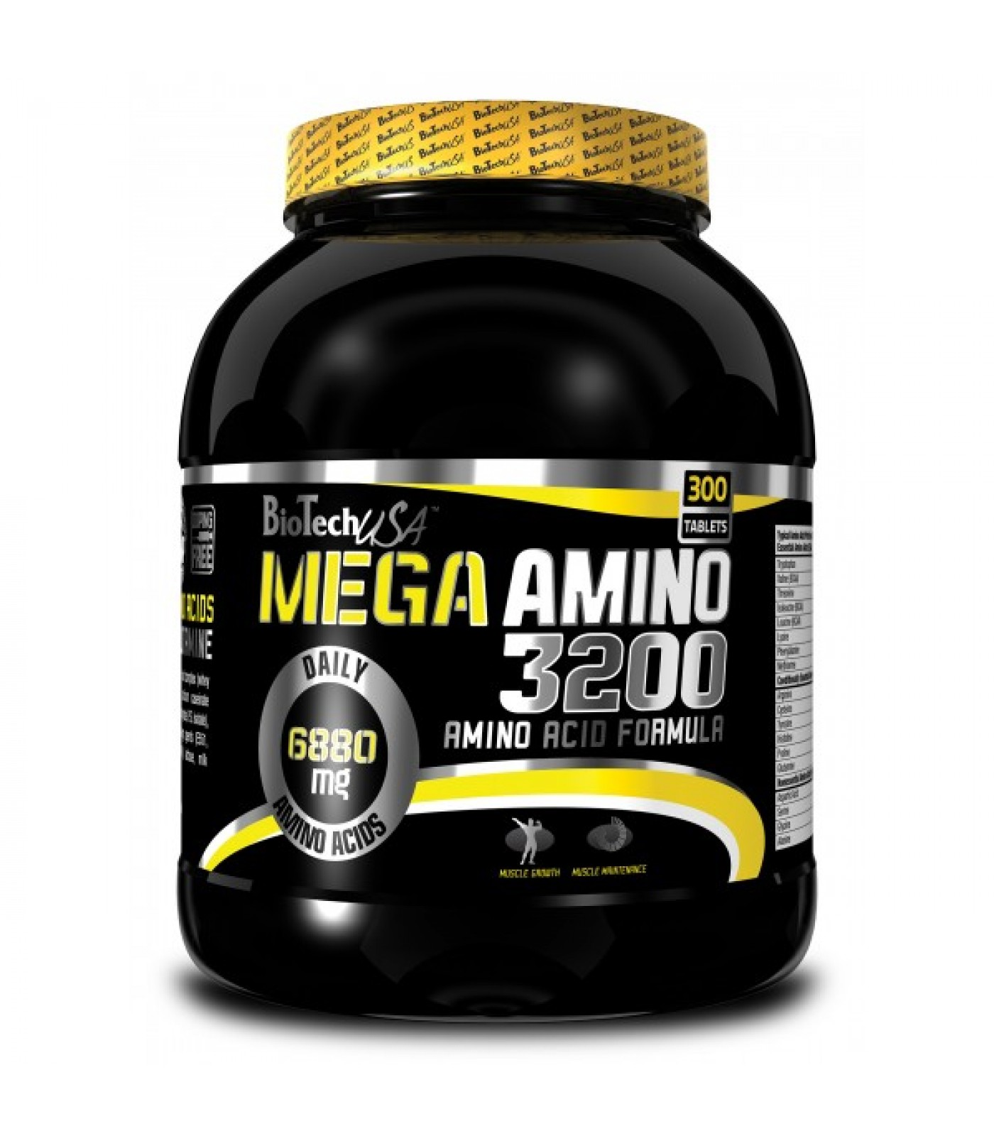 BioTech - Mega Amino 3200 / 300 tabs.