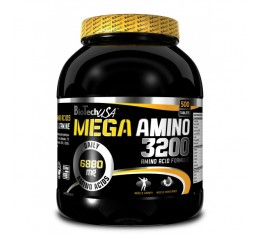 BioTech - Mega Amino 3200 / 500 tabs. Хранителни добавки, Аминокиселини, Комплексни аминокиселини