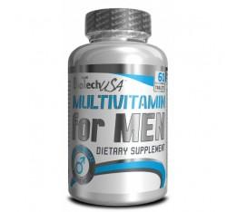 BioTech - Multivitamin for Men / 60 tab Хранителни добавки, Витамини, минерали и др., Мултивитамини