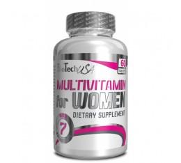 BioTech - Multivitamin for Women / 60 tab Хранителни добавки, Витамини, минерали и др., Мултивитамини