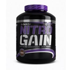 BioTech - Nitro Gain / 2270gr Хранителни добавки, Гейнъри за покачване на тегло, Гейнъри