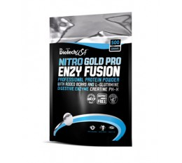 BioTech - Nitro Gold PRO Enzy Fusion / 500 gr. Хранителни добавки, Протеини, Протеинови матрици