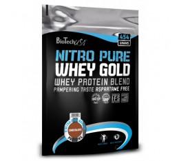 BioTech - Nitro Pure Whey Gold / 2200gr. Хранителни добавки, Протеини, Суроватъчен протеин