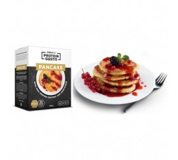 BIOTECH - Protein Gusto Vanilla Pancake / 12 Serv. Хранителни добавки, Протеини, Протеинови барове