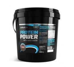 BioTech - Protein Power /4kg Хранителни добавки, Протеини, Протеинови матрици
