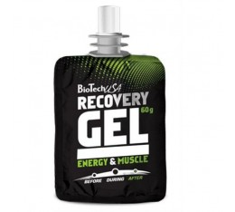 BioTech - Recovery Gel / 60gr. Хранителни добавки, Енергийни продукти