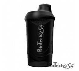 Biotech - Шейкър / 600ml. (Wave Black)