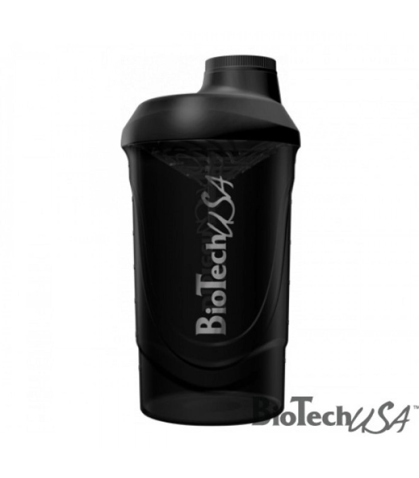 Biotech - Шейкър / 600ml. (Wave Black)