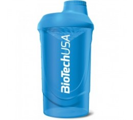 Biotech - Шейкър / 600ml. (Wave Blue)