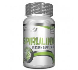 BioTech - Spirulina / 100tabs. Хранителни добавки, Здраве и тонус, Зелени храни