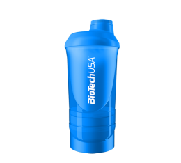 BioTech - Shaker Wave+ Blue - с отделения / 600ml. Шейкъри