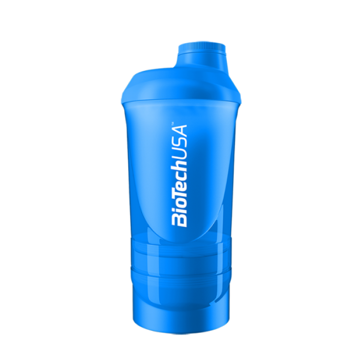 BIOTECH USA Shaker Wave+ 600ml(+200ml+150ml) Shocking Blue