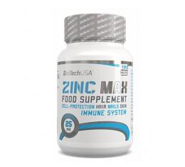 BioTech - Zinc Max / 100 tabs. Хранителни добавки, Витамини, минерали и др.