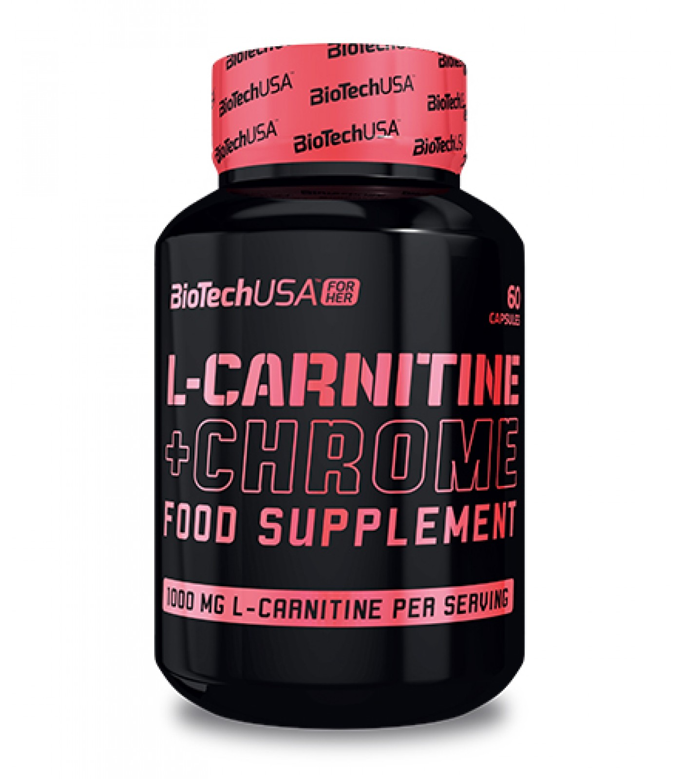 BIOTECH USA FOR HER - L-Carnitine + Chrome / 60 caps.