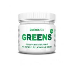 Biotech - Greens / 30 Serv. Хранителни добавки, Антиоксиданти, Здраве и тонус, Зелени храни, Хранителни добавки на промоция