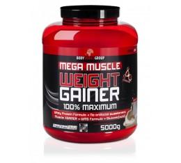 BWG - Mega Muscle Weight Gainer / 5000 gr. Хранителни добавки, Гейнъри за покачване на тегло, Гейнъри