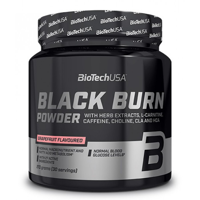 BIOTECH USA Black Burn Drink Powder / 210g