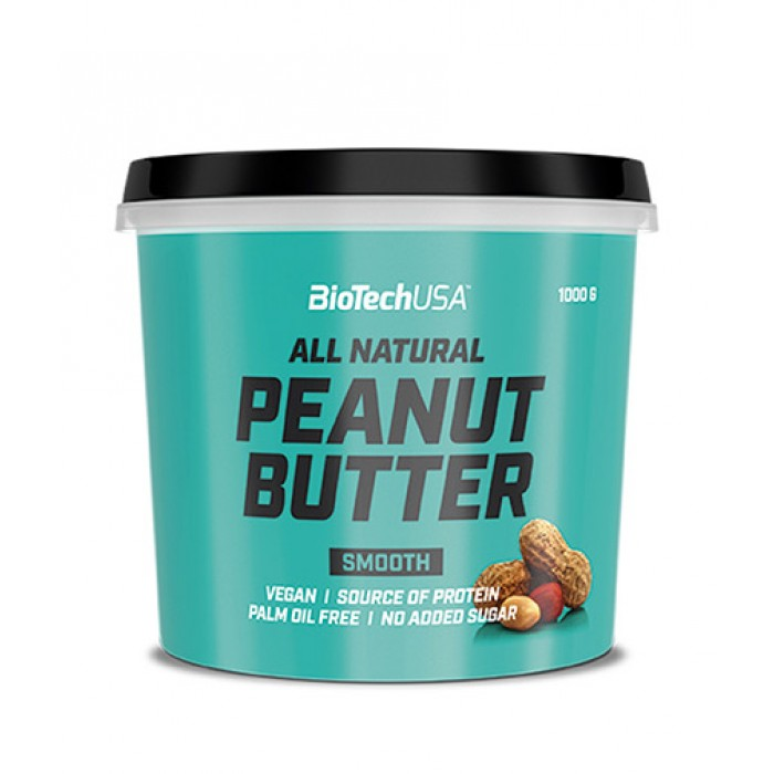BIOTECH USA Peanut Butter Smooth / 1000g