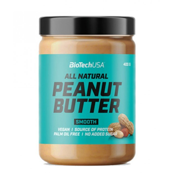 BIOTECH USA Peanut Butter Smooth / 400g