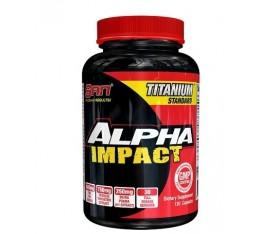 SAN - Alpha Impact / 120 caps Хранителни добавки, Стимулатори за мъже, ZMA
