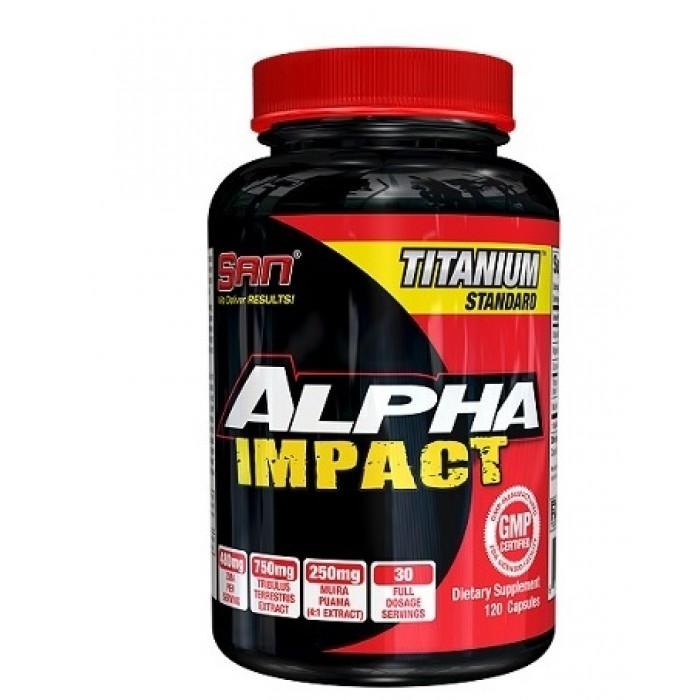 SAN - Alpha Impact / 120 caps