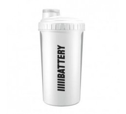 Battery Nutrition - Shaker White / 700 ml.​ Presents, 100, Шейкъри, ПОДАРЪЦИ