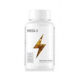 Battery Nutrition - Omega 3 / 90 softgels Хранителни добавки, Мастни киселини, Рибено масло
