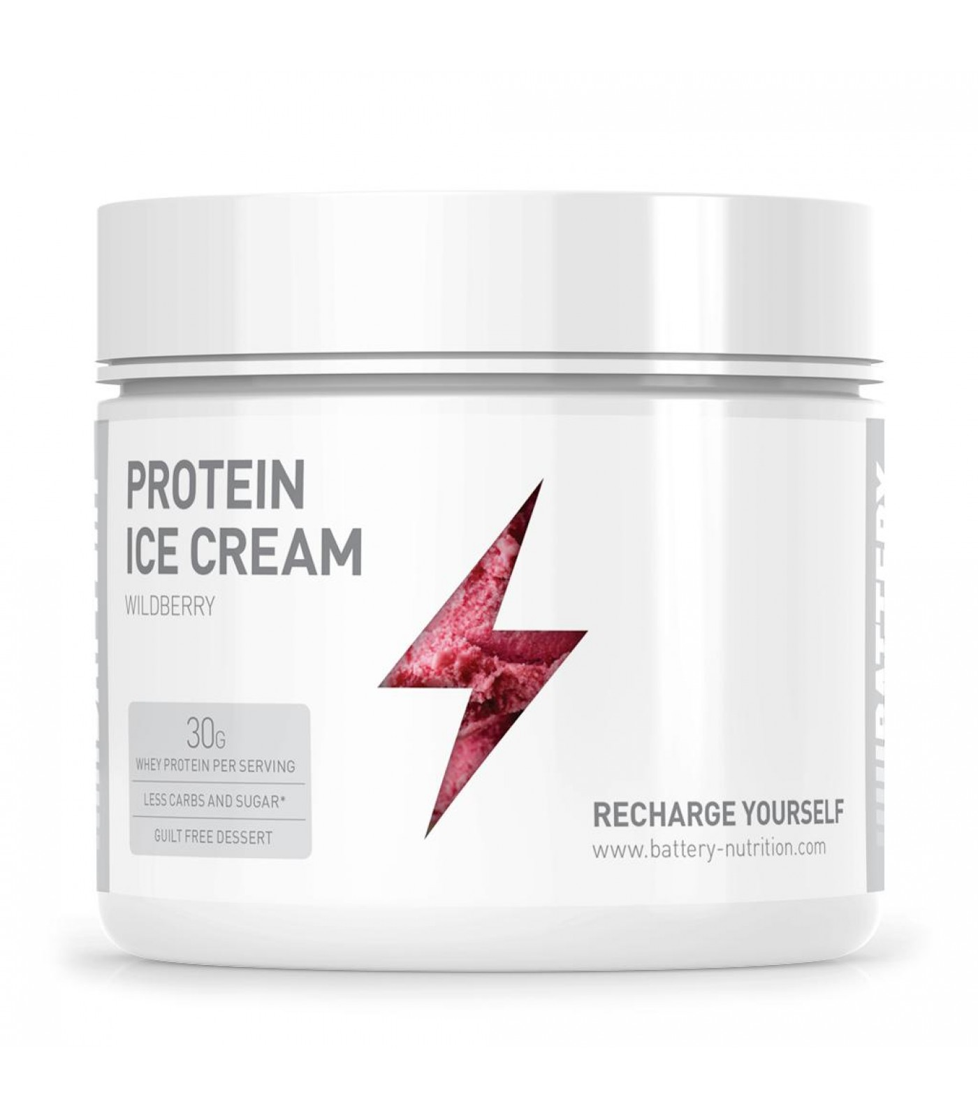 Battery Nutrition - Protein Ice Cream / 400g.