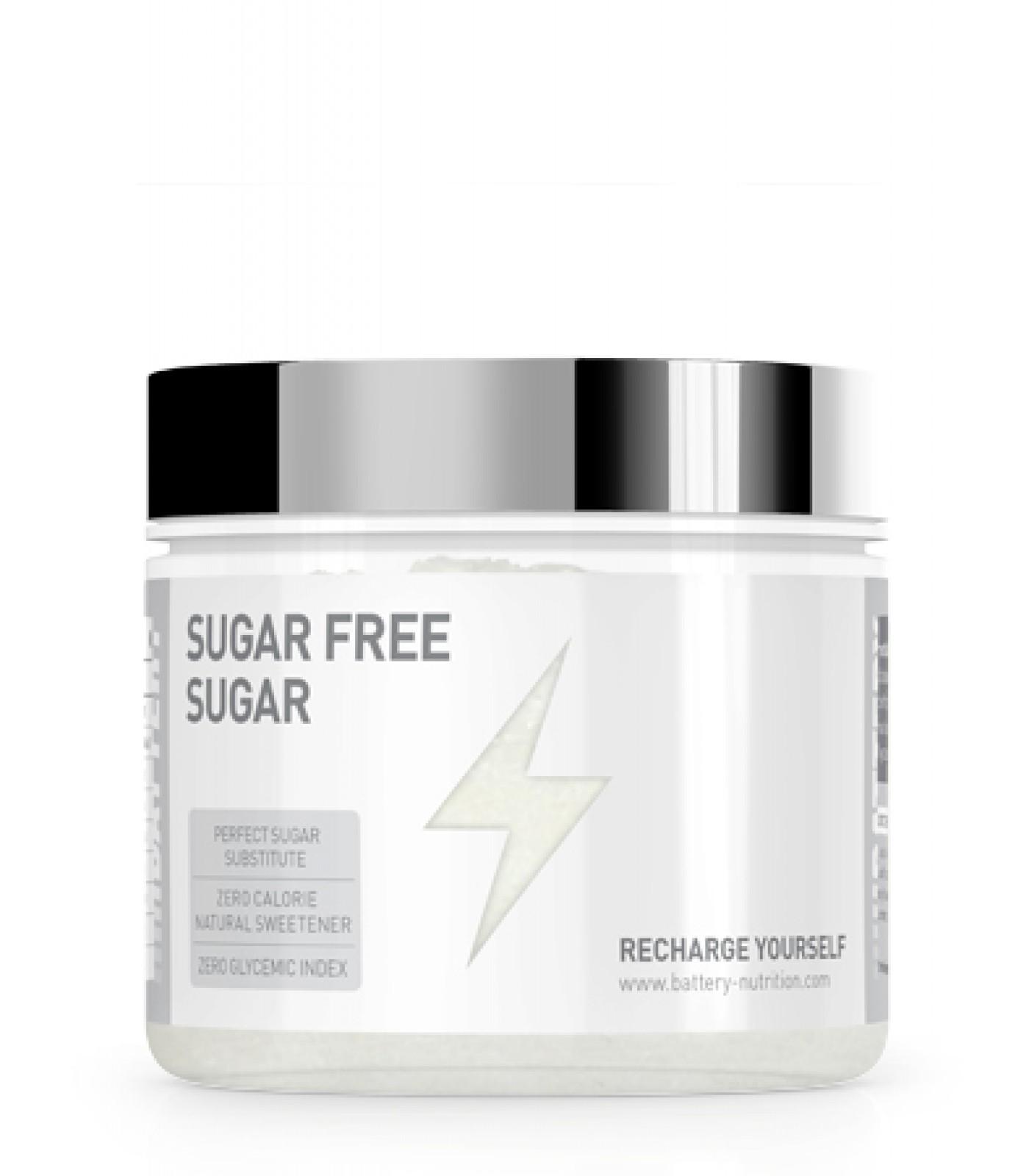 Battery Nutrition - Sugar FREE Sugar / 500g.