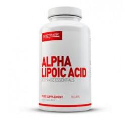 Bodyraise - Alpha Lipoic Acid / 90 caps.  Хранителни добавки, Антиоксиданти, Алфа-Липоева киселина