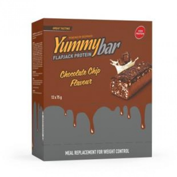 Bodyraise - Yummy Flapjack Bar / 12 x 75g.
