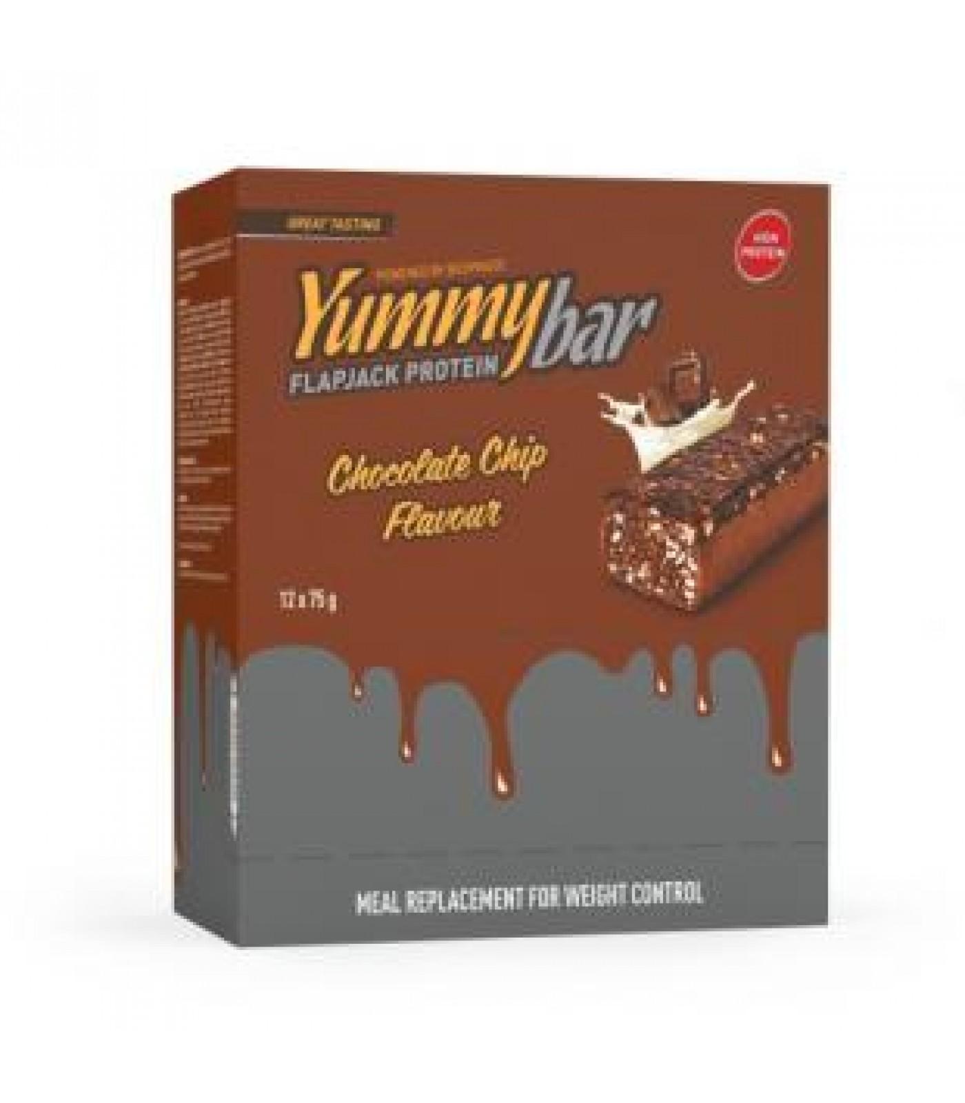 Bodyraise - Yummy Flapjack Bar / 12 x 75g.