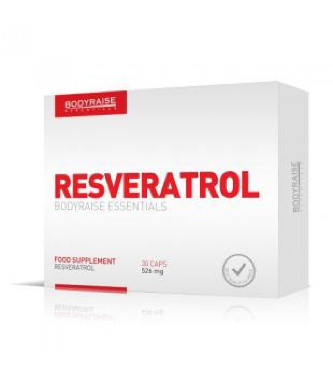 Bodyraise - Resveratrol 526mg / 30 caps.