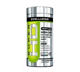 Cellucor - Super HD / 120 Caps. Хранителни добавки, Отслабване, Фет-Бърнари