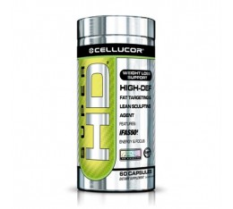 Cellucor - Super HD / 60 Caps. Хранителни добавки, Отслабване, Фет-Бърнари