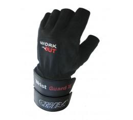 Chiba - Фитнес ръкавици с накитник - Wrist Guard 2 Фитнес аксесоари, Мъжки ръкавици за фитнес