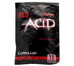 Controlled Labs - Red ACID Reborn / 10tabs. Хранителни добавки, Отслабване, Кофеин, Фет-Бърнари
