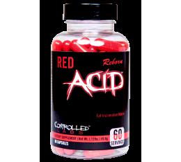 Controlled Labs - Red ACID Reborn / 60tabs. Хранителни добавки, Отслабване, Кофеин, Фет-Бърнари