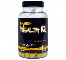 Controlled Labs - Orange Health IQ / 30 tabs.