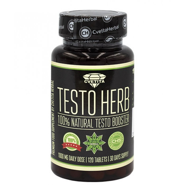 CVETITA HERBAL - Testo Herb / 120tabs.