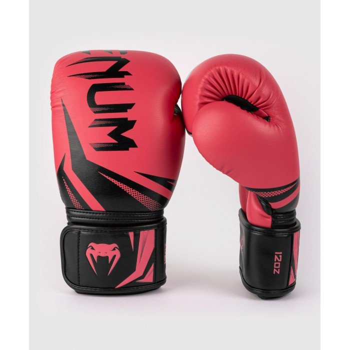 Боксови ръкавици - Venum Challenger 3.0 Boxing Gloves - Black/Coral​
