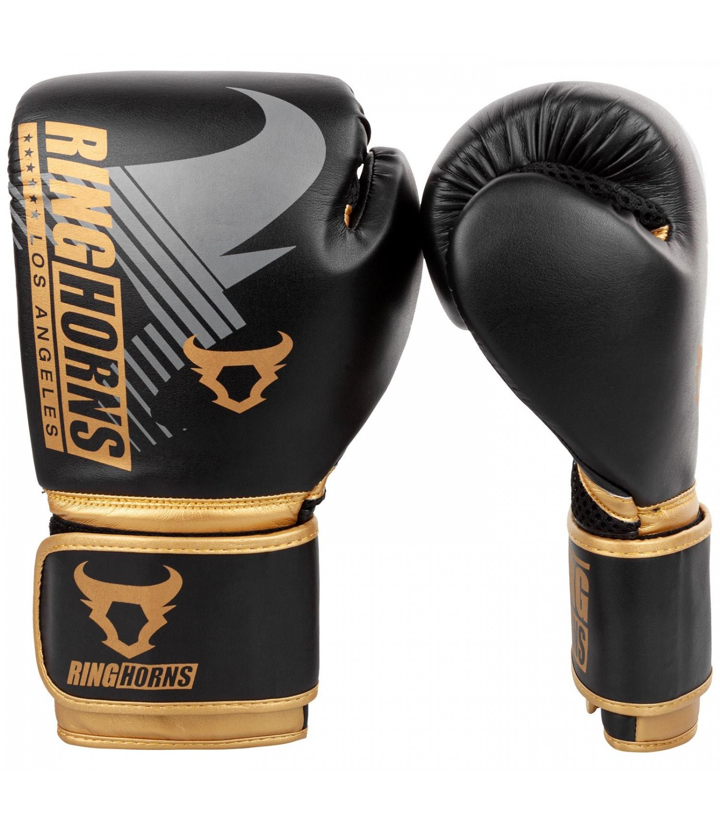 Боксови Ръкавици - Ringhorns Charger MX Boxing Gloves - Black/Gold​