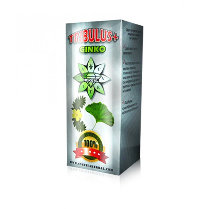 CVETITA HERBAL - TRIBULUS + GINKO