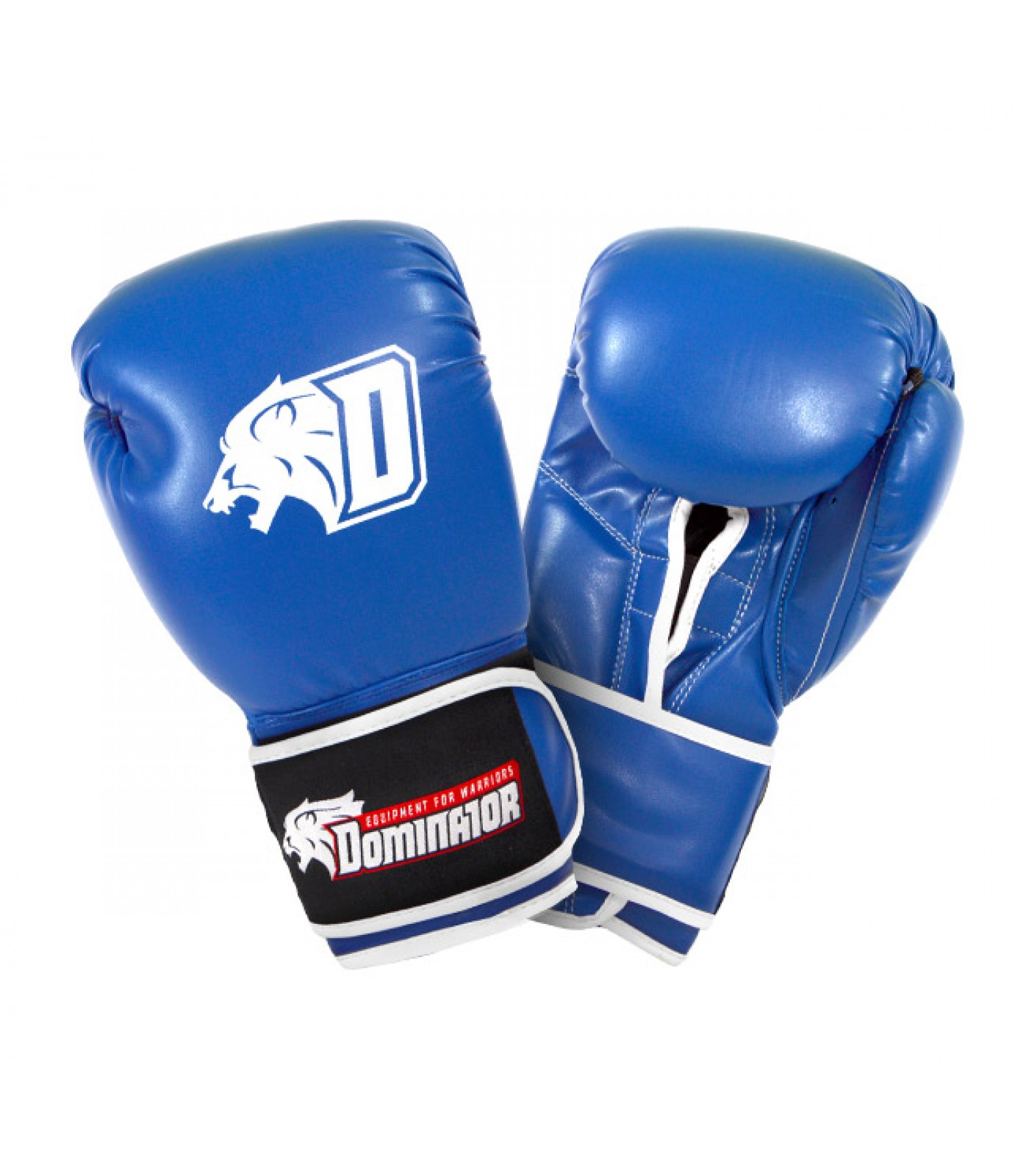 Dominator - Боксови ръкавици / D Logo - сини (изкуствена кожа)